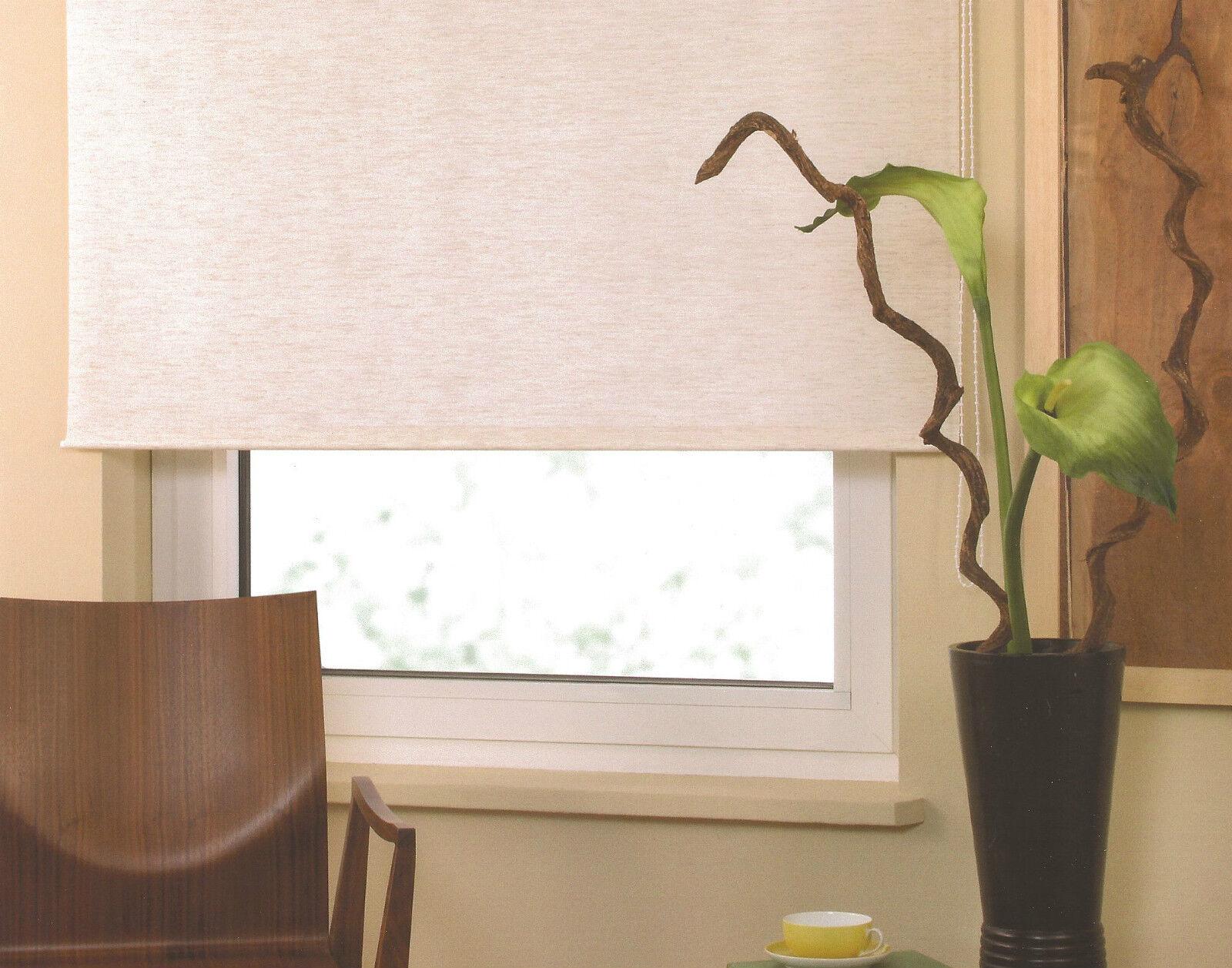 Mittelzugrollo Mittelzugrollo Mittelzugrollo Springrollo Tür Fenster Rollo Schnapprollo Fensterrollo Orange | Vogue  c6cd6e