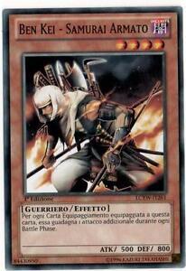 Ben-Kei-Samurai-Reinforced-YU-GI-OH-LCYW-IT261-Ita-COMMON-1-Ed