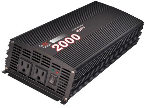 Premium 2000 Watt Power Inverter// Convert 12 Volt DC to 110Volt AC NEW