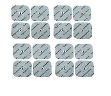 16 SQUARE STUD TENS ELECTRODE PADS 5cm x 5cm
