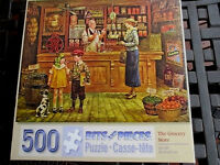 500 Piece Lee Dubin Art Puzzle the Grocery Store 16x 20