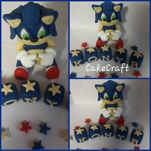 sonic the hedgehog birthday cake decorations