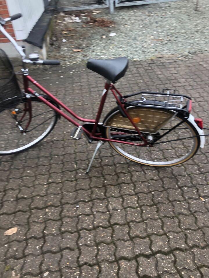 Damecykel, Amsterdam, 3 gear