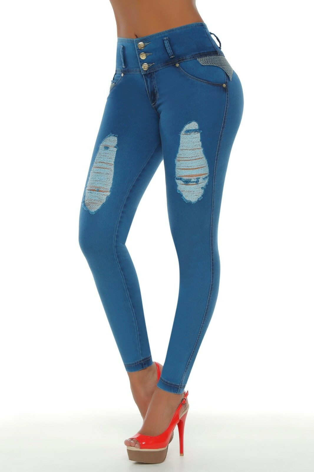 Jeans colombianos butt lifter fajas colombianas jeans levanta cola pompi 1225