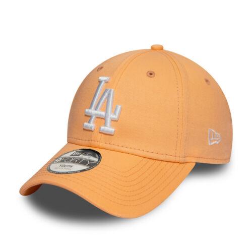 Los Angeles Dodgers peach New Era 9Forty Kinder Cap