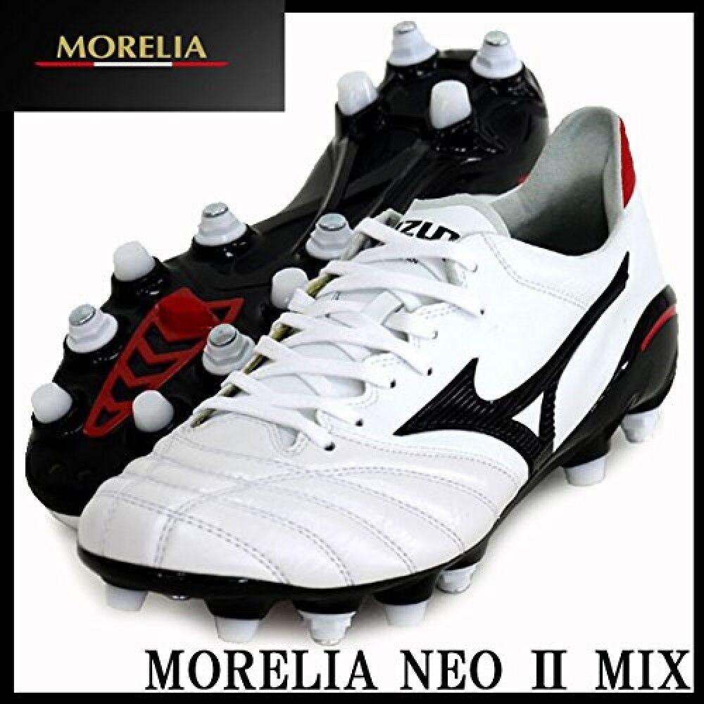 Mizuno Morelia Neo 2 Fußballschuhe P1gc165 Weiß Känguru Leder Hergestellt