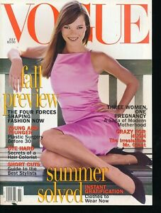VOGUE-July-1995-Fashion-Magazine-KATE-MOSS-Cover-by-STEVEN-MEISEL-Very-Fine