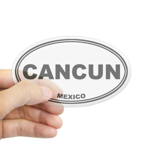 CafePress Cancun Oval Sticker Sticker 70511738 Oval