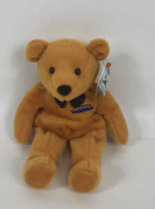 TITANIC Limited Edition Beanie Bear Numbered WITH TAGS Made by DART 1999