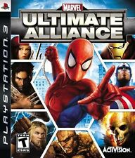 Marvel Ultimate Alliance PlayStation 3, Playstation 3 Video Games-Good Condition