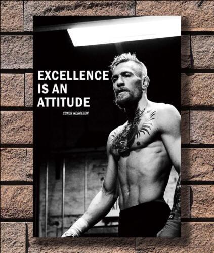 KX407 Conor McGregor UFC Quotes Sport Boxer Champion Print 24x36 Silk Poster