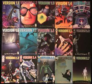 Version-1-1-1-8-amp-Version-2-1-1-7-COMPLETE-SERIES-Dark-Horse-Manga-Comic-1992