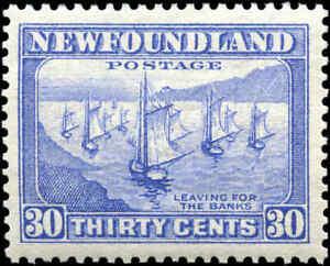 Mint-NH-Canada-Newfoundland-1932-37-30c-VF-Scott-198-Stamp