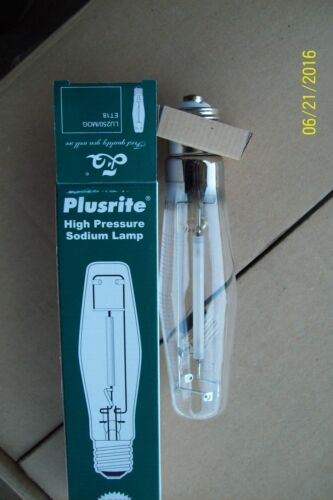 PLUSRITE 250W 250 WATT E39 HIGH PRESSURE SODIUM LAMP CLEAR LIGHT BULB LU250 ET18