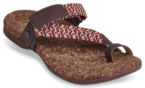Spenco Island Slide Women/'s Supportive Sandal French Roast 8 Medium