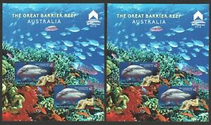 AUSTRALIA-2018-THE-GREAT-BARRIER-REEF-MACAU-STAMP-EXHIBITION-2-SOUVENIR-SHEETS