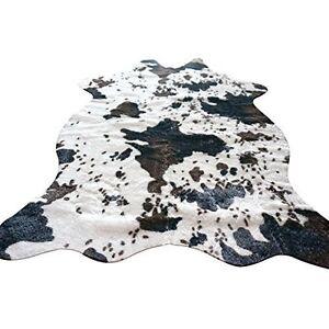 cow zebra leopard print faux cowhide living bedroom non slip carpet rug zh17 ebay. Black Bedroom Furniture Sets. Home Design Ideas