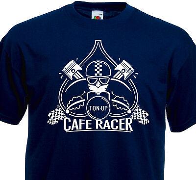 Café Racer Norton Triumph Ducati BMW Retro Vintage T-shirt femme CRAZY RACER