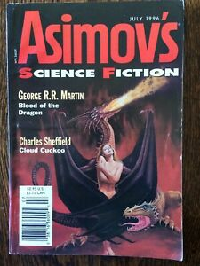 July 1996 - GAME OF THRONES - ASIMOV'S SCIENCE FICTION MAGAZINE George RR Martin