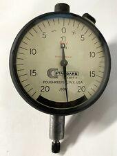Brown Amp Sharpe Standard Gage D1 23215 A Dial Indicator 0 125 Range 001