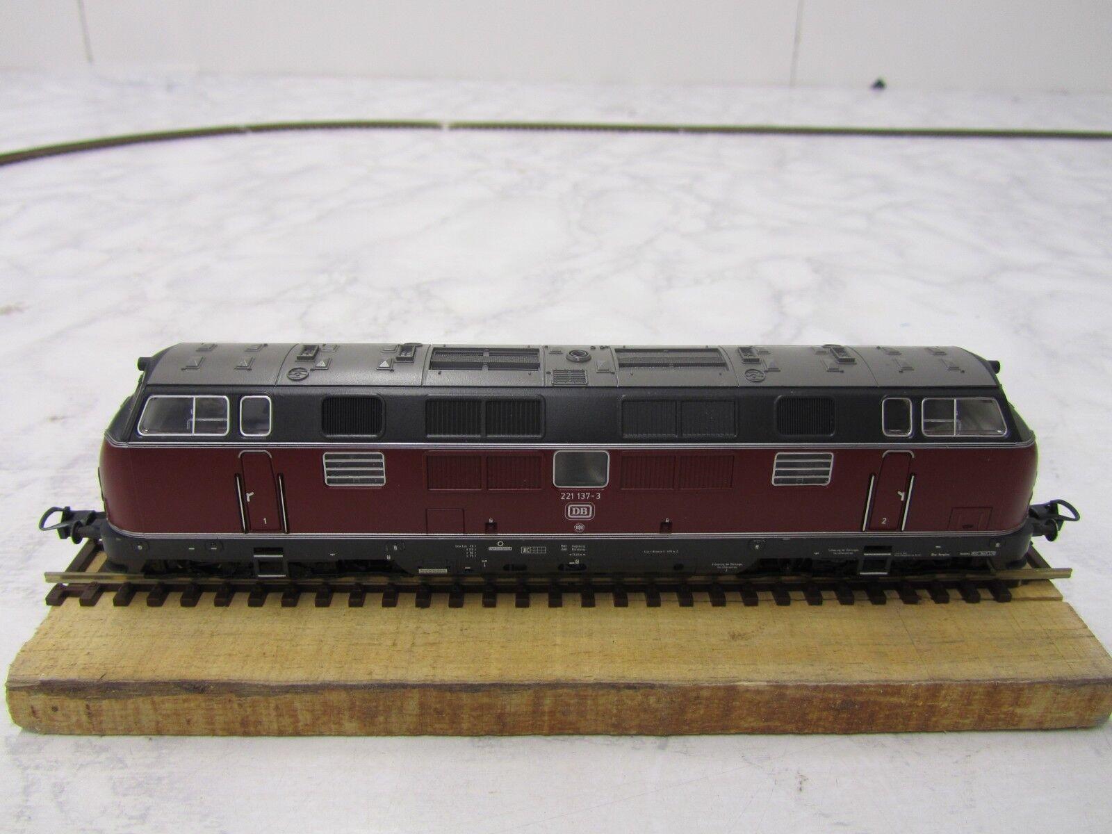 Trix, 2456, 2256, Diesel-Lok BR 221 delle DB, GS, top, come nuovo, mattoncini,