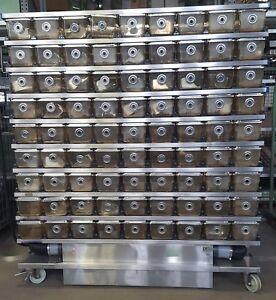 fahrbare Zuchtboxen Anlage mit 162 Boxen und Lüftungssystem Zuchtkäfige - Düren, Deutschland - fahrbare Zuchtboxen Anlage mit 162 Boxen und Lüftungssystem Zuchtkäfige - Düren, Deutschland