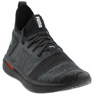Puma-Ignite-Limitless-SR-Evoknit-Sneakers-Casual-Sneakers-Black-Mens-Size