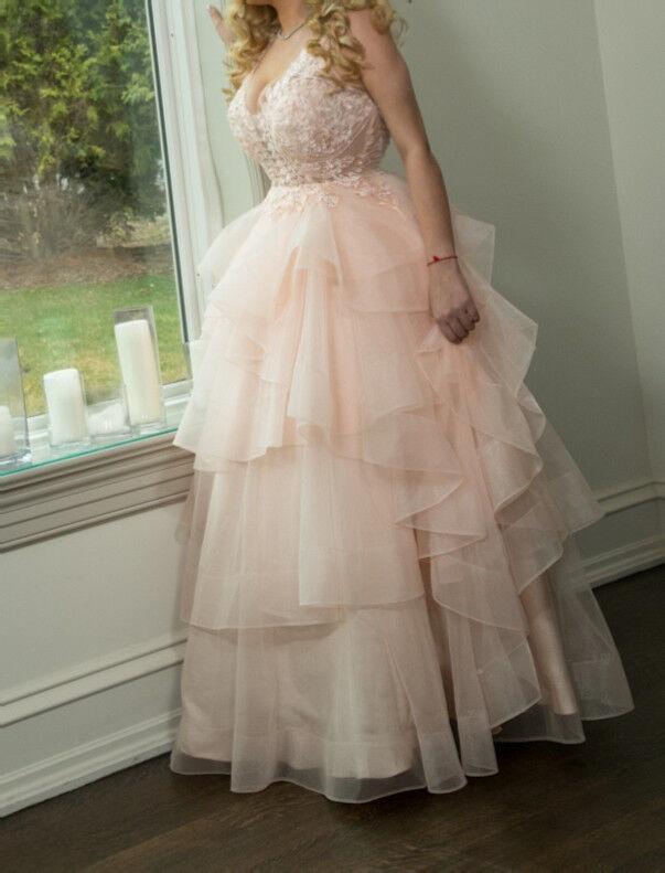 Stunning blueeSH blueeSH blueeSH Evening Gown, US 12 bff9e2