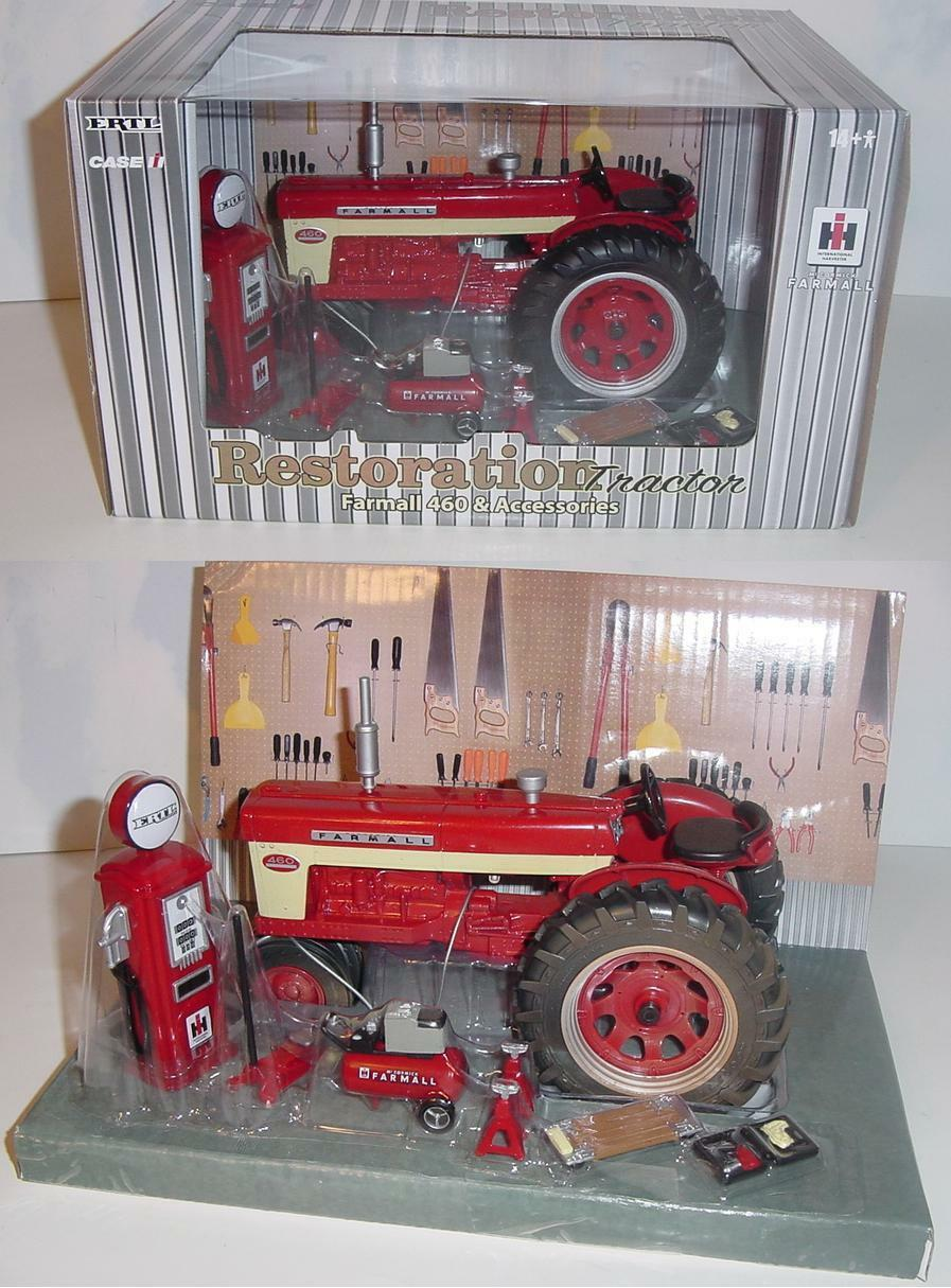 1 16 Farmall 460 Tractor & Accessories    Muddy  Restoration Set by ERTL NIB  df43b6