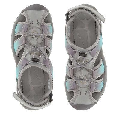 Northside Women/'s Trinidad Sport Closed Toe Bungee Cord Hook/&Loop Summer Sandals