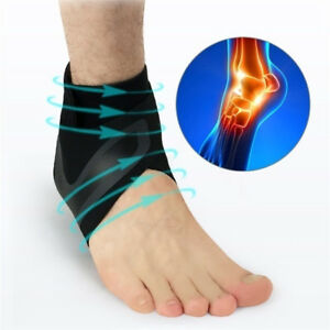 b0082d9f7b Image is loading Adjustable-Ankle-Sleeve-Breathable-Dual-Compression-Ankle- Brace-