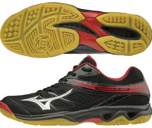 ae02c25c44087 Mizuno Japan Men's Thunder Blade Low Volleyball Shoes V1GA1770 Black ...