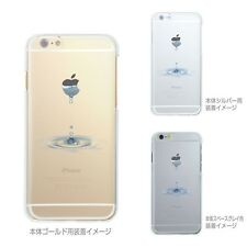 *** MADE IN JAPAN ***Soft Clear TPU Case Water Drop for iPhone 6 & iPhone 6s