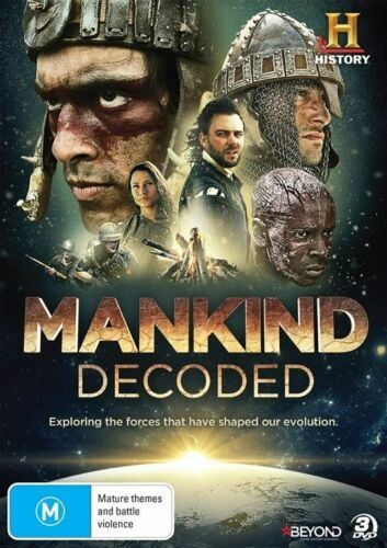 1 of 1 - Mankind Decoded (DVD, 2015, 3-Disc Set) 'NOT SEALED'