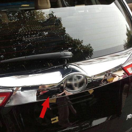 Chrome Rear Trunk Lid Molding Trim For Toyota RAV4 2014 2015