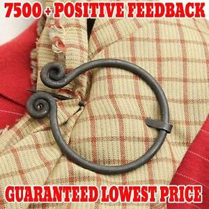 Image Is Loading Medieval Renaissance Celtic Cloak Pin Penannular Brooch  Jewelry