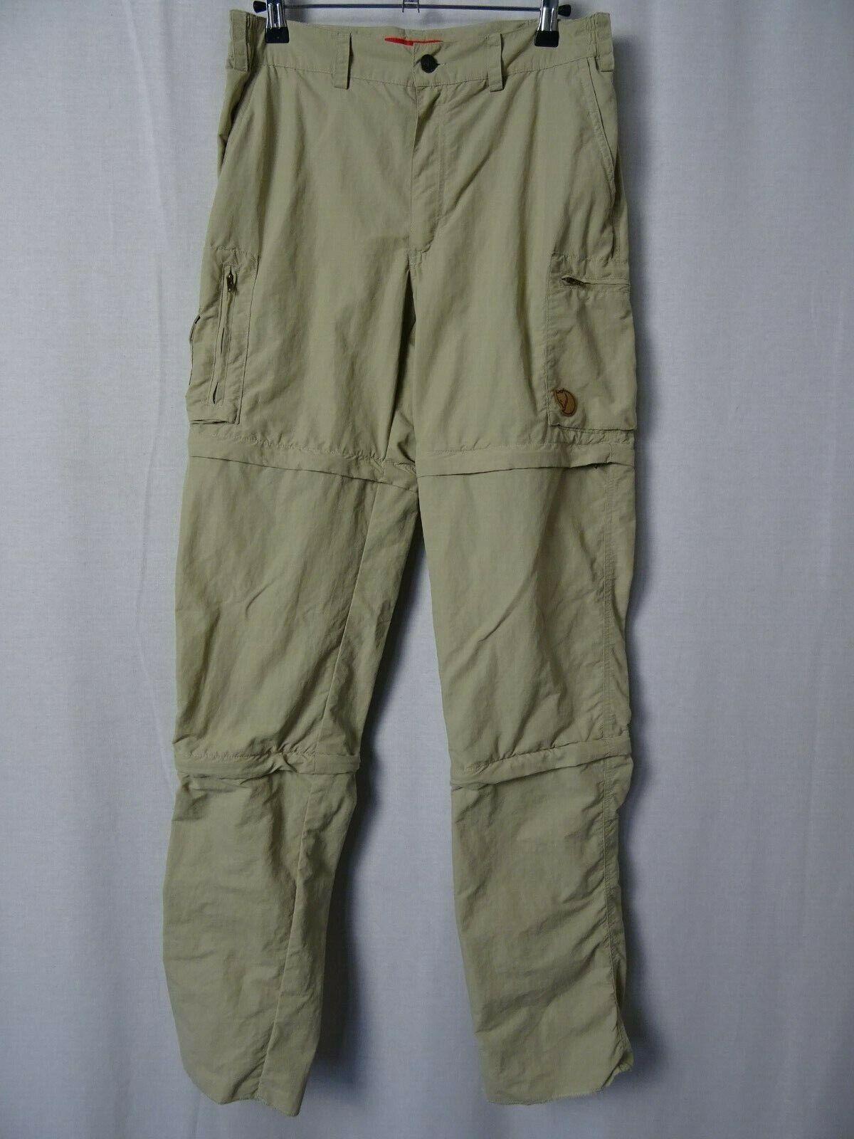 Uomo Uomo Uomo Fjällräven Sipora MT Zip-Off Pantaloni Pantaloni all'aperto W30 L34 a5b398