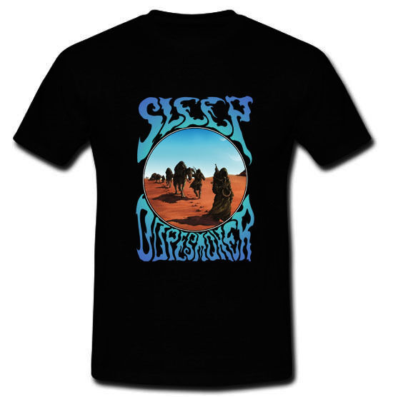 SLEEP 'Dopesmoker' Stoner Doom Metal Band Black T-shirt Tee Size S,M,L,XL,2XL