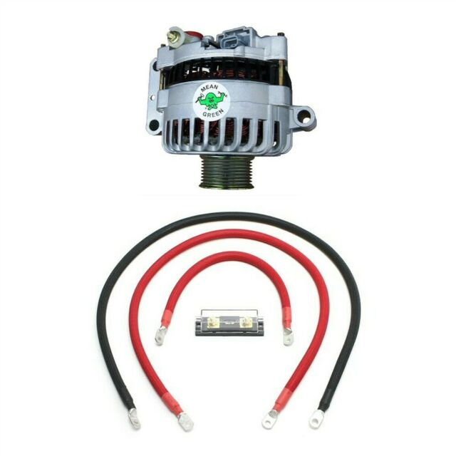 Mean Green High Output Alternator W   Basic Wiring For 03