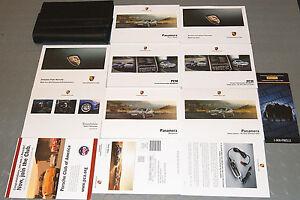 2012 porsche panamera owners manual 970 set ebay rh ebay com Porsche Panamera S 2013 porsche panamera owners manual