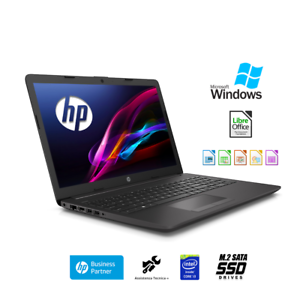 Notebook-Hp-250-G7-Display-15-6-intel-i3-7020U-Ram-8-Gb-Ssd-M-2-500Gb-Windows-10