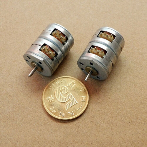 15BY25 2-Phase 4-Wire 8 Feet Mini Micro 15mm Elongated Stepper Stepping Motor
