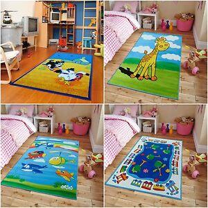 Image Is Loading Kids Area Rug Rugs 5x7 Playroom