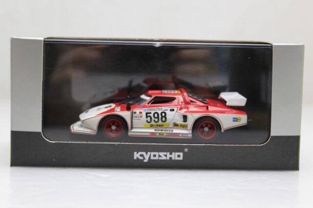 kyosho lancia stratos turbo group 5 silhouette racer model car 598
