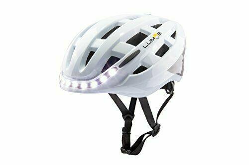 Universal Lumos Kickstarter Lite Smart Bicycle Helmet Polar White Size