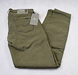 Bnwt peau All 7 W29 All Skinny In Olive seconde For Mankind skinny en For Mankind olive The Second 7 jean Bnwt W29 Le Jeans Skin E8qO7xEP