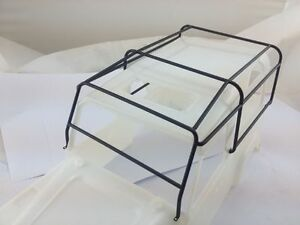 1-10-Rack-Luggage-Metal-Roll-Cage-for-Land-Rover-Defender-D90-Hard-Body-RC4WD