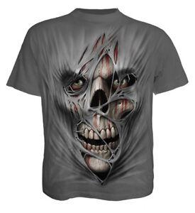 SPIRAL DIRECT STITCHED UP T-Shirt//Biker//Tattoo//Gift//Skull//Horror//Tattoo//Tee//Top