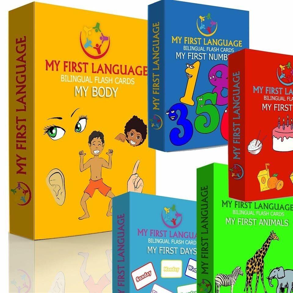 My First Language Flash Cards Gift Set - ENGLISH ENGLISH ENGLISH - SHONA 7a80da