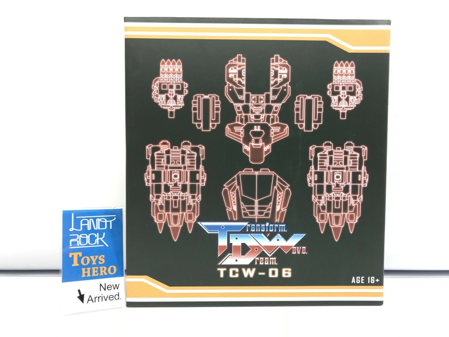 [Toys Hero] In Hand Hand Hand Transformers TDW-06 TCW-06 Upgrade Set for Dinobots ae3dba